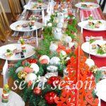 se ra sezonテーブルコーディネートセミナー 修了クリスマスパーティー